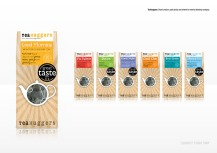 Teahuggers: Brand creation, pack design and artwork for new tea blending company