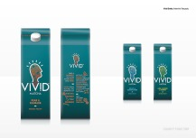 Vivid Drinks: Artwork for Tetra packs