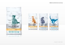 Nutri Cat: Tesco Atlas Brand artwork for new cat food range