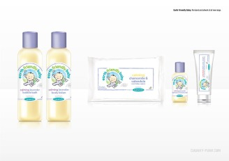 Earth Friendly Baby: Re-brand and artwork of all new range