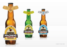 Magners Re-design: Bottle labels