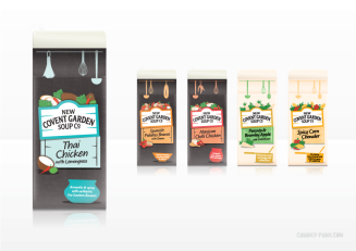 New Covent Garden Soup Co: New Tetra packs